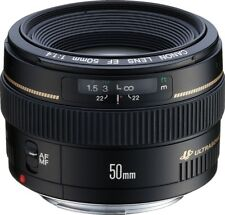 Canon new EF 50mm f/1.4 USM