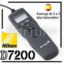 Intervalometro y disparador para Nikon D7200, remoto, camara digital, objetivo