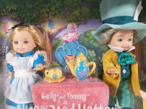 Kelly and Tommy as Alice and the Mad Hatter Disney Barbie Collector Edition 2002
