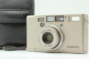 【 MINT w/Case 】 Contax Tix Carl Zeiss 28mm f/2.8 Point&Shoot APS Film From JAPAN