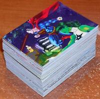 2014 DC Epic Battles Trading Cards (Cryptozoic) Complete Base Set 1-63 !