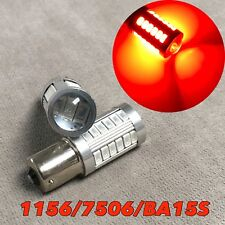 1156 7506 P21W BA15S SMD LED Red BULB BACK UP REVERSE LIGHT FOR Jeep Plymouth