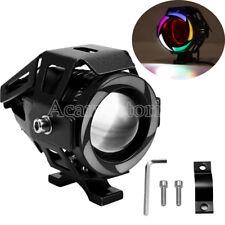 125W CREE U7 LED Fog Headlight Fit Honda Shadow ACE Aero VT 750 1100 VLX 600 Top