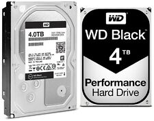 Western Digital 4TB BLACK Performance Hard Drive WD 6 Gbs 128mb WD4004FZWX 4 TB