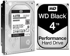 Western Digital 4TB BLACK Performance Hard Drive WD 6 Gbs 128mb WD4004FZWX 4 TB