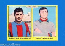 # CALCIATORI PANINI 1966-67 - Figurina-Sticker -CALVANESE-CRISCUOLO CATANIA-Rec