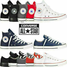 Converse MensWomens Trainers Low High Tops Chuck Taylor All Star Casual Shoes UK