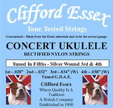 More details for concert ukulele. tuned g. d. a. e. designed for ukulele playing mandolin players