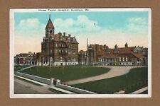 Scranton,PA Pennsylvania, Moses Taylor Hospital, used 1924