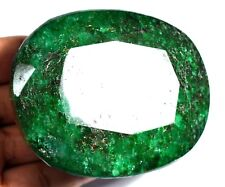 1547.0 Ct Natural HUGE Green Zambian  AGSL Certified Earth-Mined Top Quality Gem