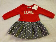 GAP babyGap Disney Minnie Mouse Mix-Fabric Dress NWT 2t NWT N12 NNN