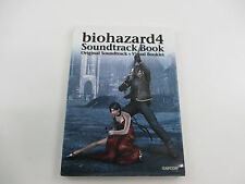 Biohazard 4  Soundtrack Music Book CD Japan Ver