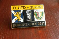 Dundee United vs Slask    Eufa Cup 2011 badge