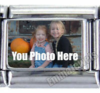Your Image Picture Text Custom 9mm Italian Photo Charm