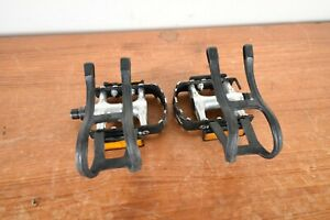 1990 Shimano Deore pedals PD-MT60 made in Japan 9/16'' for MTB