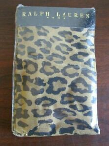 Ralph Lauren Home Aragon Cheetah Print Standard Pillowcase Set (2) NEW, NIP