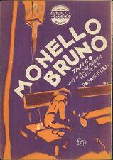 Spartito musicale monello Bruno tango B. Cherubini edizioni C A Bixio