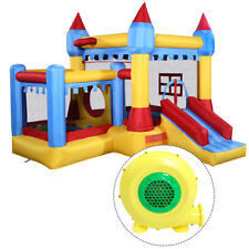 Inflatable Bounce House Castle Commercial Kids Moonwalk With 480 Blower
