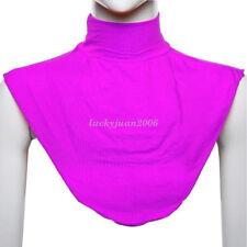 Women's False Collar Moslem Neck Cover Loop Scarf Fake Turtleneck T-shirt Collar