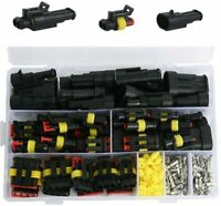 352Pc Car Electrical Wire Connector Terminals Plug Kit 1/2/3/4 Pin Truck Harness