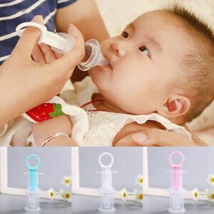 Squeeze Baby Medicine Dropper Infant Nipple Syringe Pacifier Feeder Dispenser