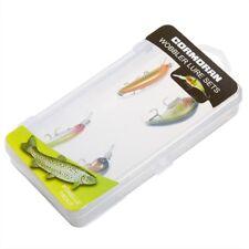 Cormoran Wobbler Set Forelle - 4 Zielfisch Kunstköder + Tackle Box (53-00102)