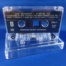 Paul McCartney: Flaming Pie EXTREMELY RARE 1997 ADVANCE PROMO CASSETTE TCRP 445