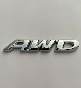 Argent Chrome AWD Métal Badge Emblème Pour Land Range Rover Freelander Discovery