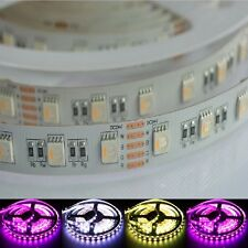 5m 24V SMD 5050 LED Streifen 4in1 RGBW RGBWW Warmweiss 3200K IP20 Stripe Dimmbar