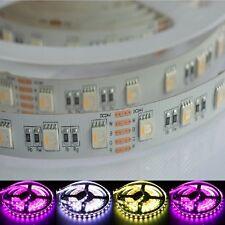 5m 24v STRISCE LED 4in1 RGBW RGB + W kaltweiss 6500k ip20 19.2w/m Dimmerabile Stripe