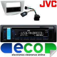 SEAT LEON 05-15 JVC CD MP3 USB AUX IPOD CAR radio stereo STERZO interfaccia KIT1