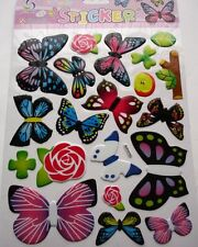 New Vinyl Scratch Resistant Butterfly Flowers Trees Wall Decal Craft Stickers