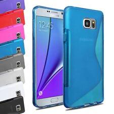 Fundas y carcasas Para Samsung Galaxy Note5 de silicona/goma para teléfonos móviles y PDAs
