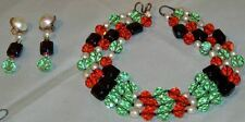 Hand Made Designer Necklace & Earrings  One of A Kind