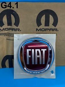 New Genuine OEM Fiat Freemont 2011on Rear Trunk Badge Emblem 85mm High 68100272