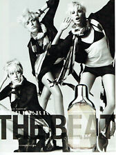 Publicité Advertising 028  2009   parfum The Beat Burberry & Agyness Deyn