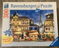 Ravensburger puzzle 300 Large Piece Format PRETTY PARIS Eiffel Tower Complete