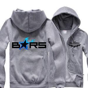Fashion Anime Black Rock Shooter BRS Hoodie Cotton Hooded Jacket Sweatshirt Coat