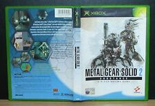 METAL GEAR SOLID 2 SUBSTANCE - Xbox - PAL - Italiano - Usato