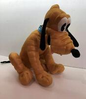 Disney 90th Anniversary Large Sitting Pluto Plush - Special Edition