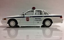 """Scale model car 1:43 Ford crown Victoria """"DPS"""" 1992"""