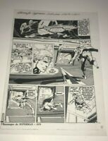 Muhammad Ali Versus Superman Neal Adams Alien Production Art Transparency Page Z