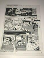 Muhammad Ali Versus Superman Neal Adams Alien Production Art Transparency Page Z