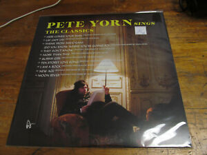 PETE YORN Pete Yorn Sings the Classics RSD 2021 6/12 LP sealed VINYL Record NEW