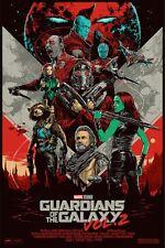 Guardians of the Galaxy 2 Reg Mondo Alternative Movie Poster Ken Taylor Ltd Ed