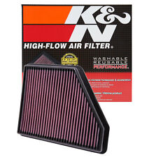 K&N 33-2434 Replacement Air Filter 10-15 Camaro 3.6L V6, SS 6.2L V8, ZL1 6.2L V8