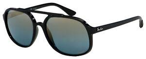 Ray-Ban Sunglasses RB 4312CH 601/J0 57 Black | Blue Grad Mir Chromance Polarized