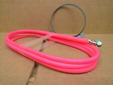 New-Old-Stock Casiraghi MTB Brake Cable/Housing Set - Neon Pink