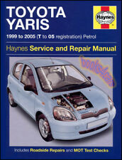 TOYOTA ECHO SHOP MANUAL SERVICE REPAIR BOOK HAYNES 2000 2005 2004 2003 2002 2001