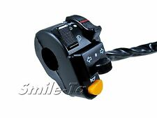 "Motorcycle 7/8"" Universal Turn Signal Headlight, Horn Switch Handlebar Controls"